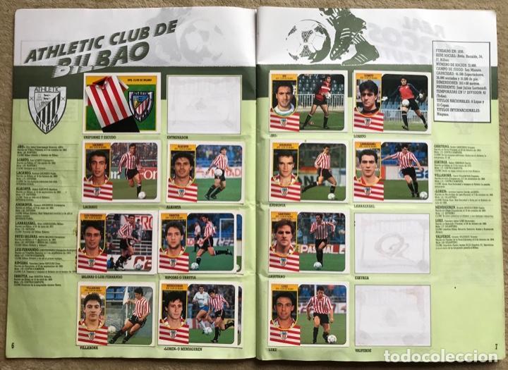 Coleccionismo deportivo: Álbum liga 91 - 92 (1991 - 1992) Fútbol 1ª División - Ediciones Este - Foto 5 - 147981810