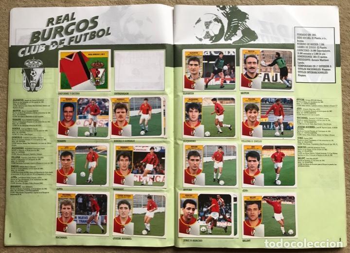 Coleccionismo deportivo: Álbum liga 91 - 92 (1991 - 1992) Fútbol 1ª División - Ediciones Este - Foto 6 - 147981810