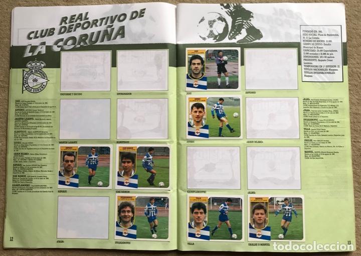 Coleccionismo deportivo: Álbum liga 91 - 92 (1991 - 1992) Fútbol 1ª División - Ediciones Este - Foto 8 - 147981810