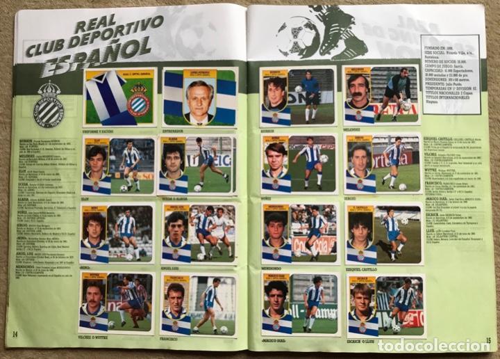 Coleccionismo deportivo: Álbum liga 91 - 92 (1991 - 1992) Fútbol 1ª División - Ediciones Este - Foto 9 - 147981810