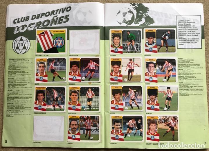 Coleccionismo deportivo: Álbum liga 91 - 92 (1991 - 1992) Fútbol 1ª División - Ediciones Este - Foto 11 - 147981810
