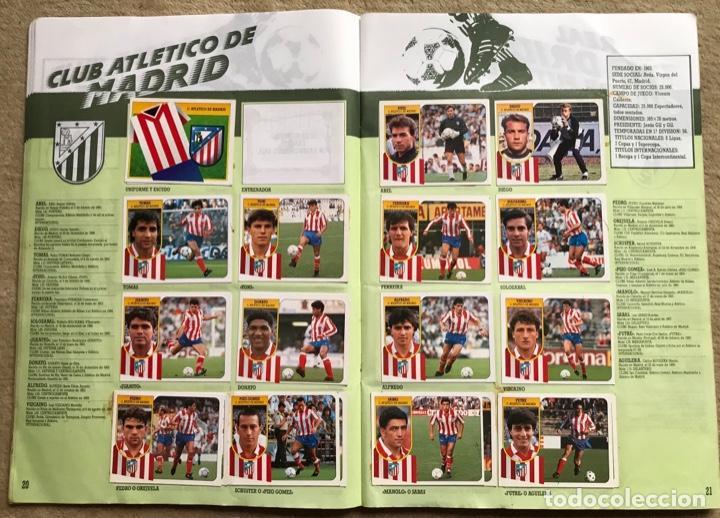 Coleccionismo deportivo: Álbum liga 91 - 92 (1991 - 1992) Fútbol 1ª División - Ediciones Este - Foto 12 - 147981810