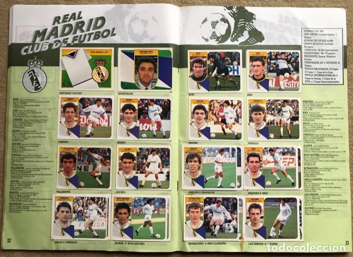 Coleccionismo deportivo: Álbum liga 91 - 92 (1991 - 1992) Fútbol 1ª División - Ediciones Este - Foto 13 - 147981810
