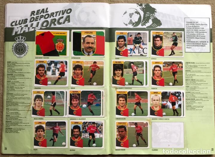 Coleccionismo deportivo: Álbum liga 91 - 92 (1991 - 1992) Fútbol 1ª División - Ediciones Este - Foto 14 - 147981810