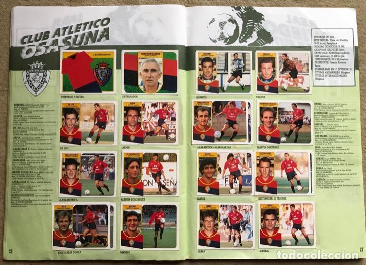 Coleccionismo deportivo: Álbum liga 91 - 92 (1991 - 1992) Fútbol 1ª División - Ediciones Este - Foto 15 - 147981810