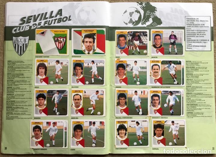 Coleccionismo deportivo: Álbum liga 91 - 92 (1991 - 1992) Fútbol 1ª División - Ediciones Este - Foto 17 - 147981810