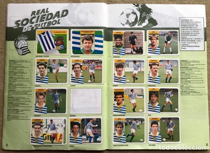 Coleccionismo deportivo: Álbum liga 91 - 92 (1991 - 1992) Fútbol 1ª División - Ediciones Este - Foto 18 - 147981810