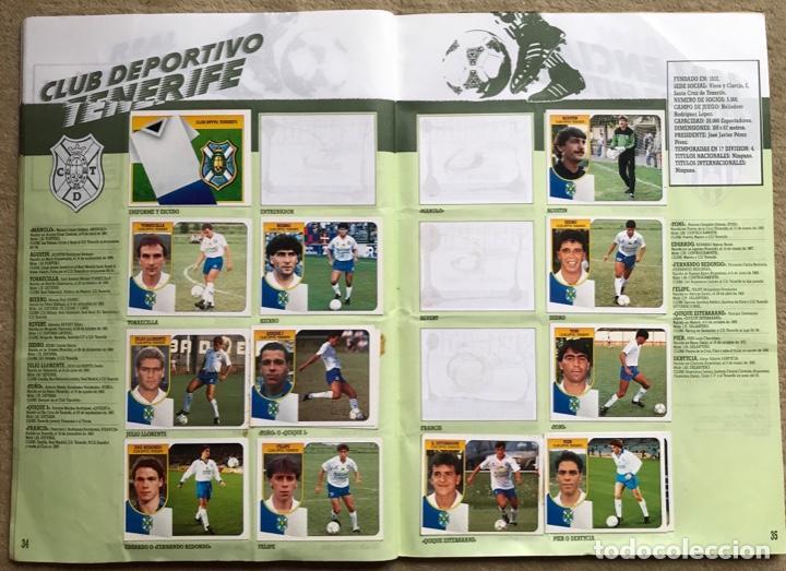 Coleccionismo deportivo: Álbum liga 91 - 92 (1991 - 1992) Fútbol 1ª División - Ediciones Este - Foto 19 - 147981810