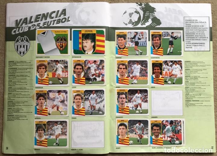 Coleccionismo deportivo: Álbum liga 91 - 92 (1991 - 1992) Fútbol 1ª División - Ediciones Este - Foto 20 - 147981810