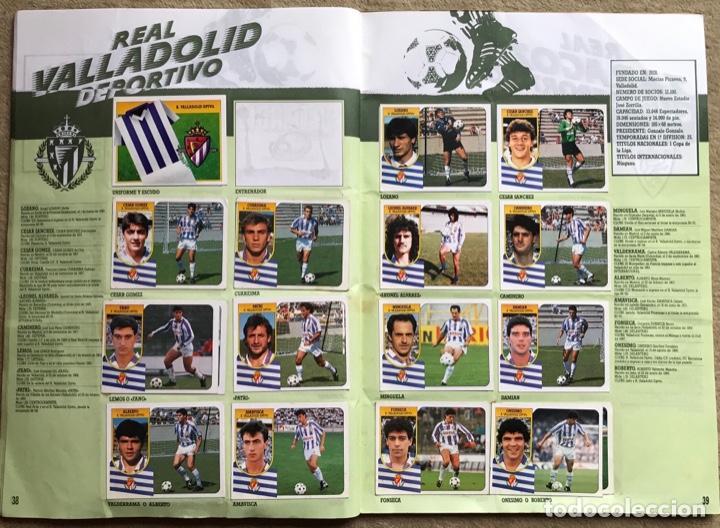 Coleccionismo deportivo: Álbum liga 91 - 92 (1991 - 1992) Fútbol 1ª División - Ediciones Este - Foto 21 - 147981810