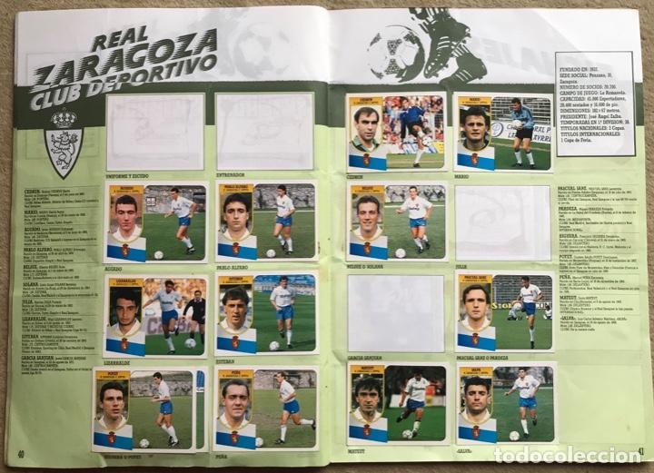Coleccionismo deportivo: Álbum liga 91 - 92 (1991 - 1992) Fútbol 1ª División - Ediciones Este - Foto 22 - 147981810