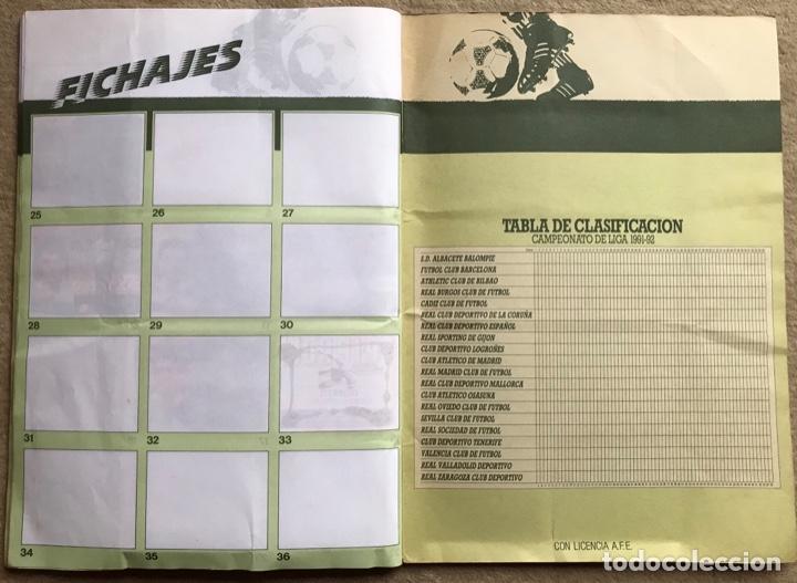 Coleccionismo deportivo: Álbum liga 91 - 92 (1991 - 1992) Fútbol 1ª División - Ediciones Este - Foto 24 - 147981810