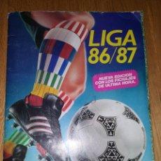 Coleccionismo deportivo: ALBUM ESTE LIGA 1986 1987 86 87 MUY COMPLETO. Lote 147986010