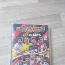 Coleccionismo deportivo: ALBUM CROMOS LIGA FUTBOL ESTUCHE CARDS ADRENALYN 2015-16 FALTAN 110 CROMOS. Lote 148074882