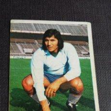 Coleccionismo deportivo: ESTE 74 75 1974 1975 - FICHAJE 15 OVEJERO - REAL ZARAGOZA ( LEVE DESPEGADO SUPERIOR ). Lote 148090450