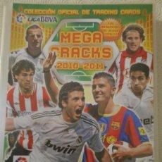 Coleccionismo deportivo: MEGA CRACKS 2010-2011. COLECCION OFICIAL TRADING CARDS. LIGA BBVA. CAMPEONATO NACIONAL DEL LIGA 2010. Lote 148368406