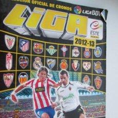 Coleccionismo deportivo: LIGA 2012-2013 , ALBUM 358 CROMOS FALTAN 43 CROMOS LAS PAGINAS FINALES DE ULTIMOS FICHAJES . Lote 148691530