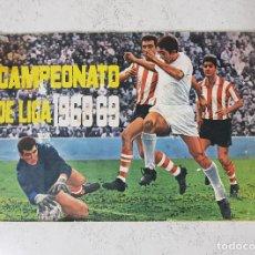 Coleccionismo deportivo: ALBUM DE CROMOS CAMPEONATO DE LIGA 1968-69 DISGRA EDITORIAL FHER. Lote 148771186