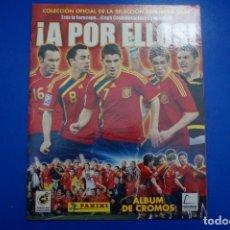 Coleccionismo deportivo: ALBUM VACIO DE FUTBOL A POR ELLOS 2009 DE PANINI. Lote 149459926