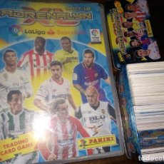 Coleccionismo deportivo: 291 CROMOS +CAJA+ ÁLBUM ADRENALYN XL 2017-18. Lote 149589890