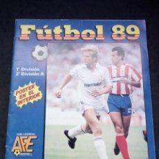 Coleccionismo deportivo: ALBUM DE CROMOS, FUTBOL 89, DE PANINI. . Lote 149695822