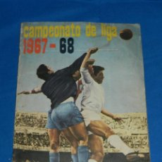 Coleccionismo deportivo: ALBUM CAMPEONATO DE LIGA 1967 - 68 EDT DISGRA , IMCOMPLETO , VER FOTOGRAFIAS ADICIONALES. Lote 149858942