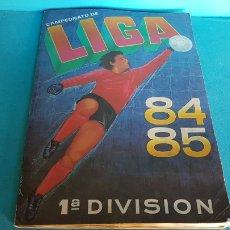 Coleccionismo deportivo: ALBUM LIGA 84 85 CROMOS CANO COMPLETO AL 98 % + 8 FICHAJES DOBLES. Lote 149974302