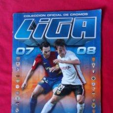 Coleccionismo deportivo: ESTE 07 08 ALBUM TEMPORADA 2007 2008 CON 413 CROMOS. Lote 150061572