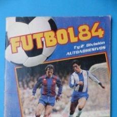 Coleccionismo deportivo: ALBUM FUTBOL 84 - PANINI - TIENE 124 CROMOS - VER DESCRIPCION Y FOTOS. Lote 150188926