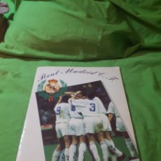 Coleccionismo deportivo: ALBUM DE CROMOS INCOMPLETO REAL MADRID. Lote 150584168