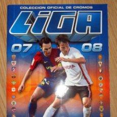 Coleccionismo deportivo: ALBUM PLANCHA EDICIONES ESTE 2007-08 PANINI VACIO. Lote 150689778