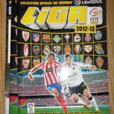 Coleccionismo deportivo: ALBUM PLANCHA EDICIONES ESTE 2012-13 PANINI VACIO. Lote 150690182