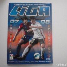 Coleccionismo deportivo: ALBUM DE CROMOS DE FÚTBOL EDICIONES ESTE 2007-08. Lote 150831886