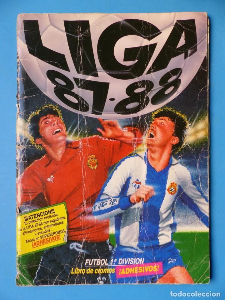 ALBUM CROMOS - LIGA 1987-1988 87-88 - ED. ESTE - TIENE 242 CROMOS - VER DESCRIPCION Y FOTOS (Coleccionismo Deportivo - Álbumes y Cromos de Deportes - Álbumes de Fútbol Incompletos)