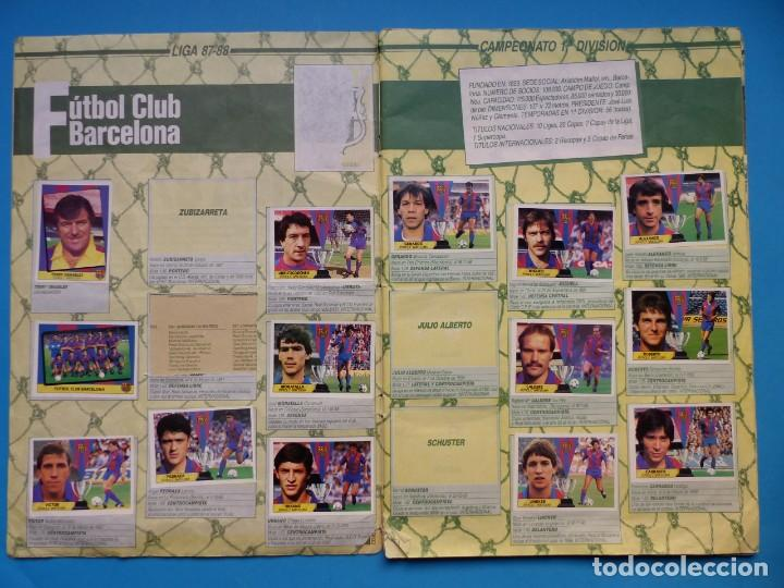 Coleccionismo deportivo: ALBUM CROMOS - LIGA 1987-1988 87-88 - ED. ESTE - TIENE 242 CROMOS - VER DESCRIPCION Y FOTOS - Foto 3 - 150978674