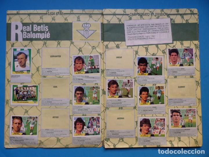 Coleccionismo deportivo: ALBUM CROMOS - LIGA 1987-1988 87-88 - ED. ESTE - TIENE 242 CROMOS - VER DESCRIPCION Y FOTOS - Foto 5 - 150978674