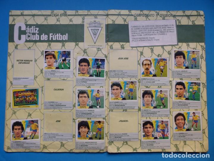 Coleccionismo deportivo: ALBUM CROMOS - LIGA 1987-1988 87-88 - ED. ESTE - TIENE 242 CROMOS - VER DESCRIPCION Y FOTOS - Foto 7 - 150978674