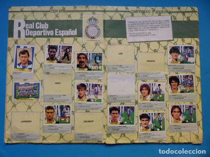 Coleccionismo deportivo: ALBUM CROMOS - LIGA 1987-1988 87-88 - ED. ESTE - TIENE 242 CROMOS - VER DESCRIPCION Y FOTOS - Foto 9 - 150978674