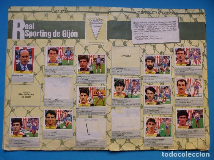 Coleccionismo deportivo: ALBUM CROMOS - LIGA 1987-1988 87-88 - ED. ESTE - TIENE 242 CROMOS - VER DESCRIPCION Y FOTOS - Foto 10 - 150978674