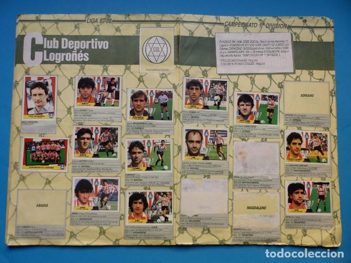 Coleccionismo deportivo: ALBUM CROMOS - LIGA 1987-1988 87-88 - ED. ESTE - TIENE 242 CROMOS - VER DESCRIPCION Y FOTOS - Foto 12 - 150978674