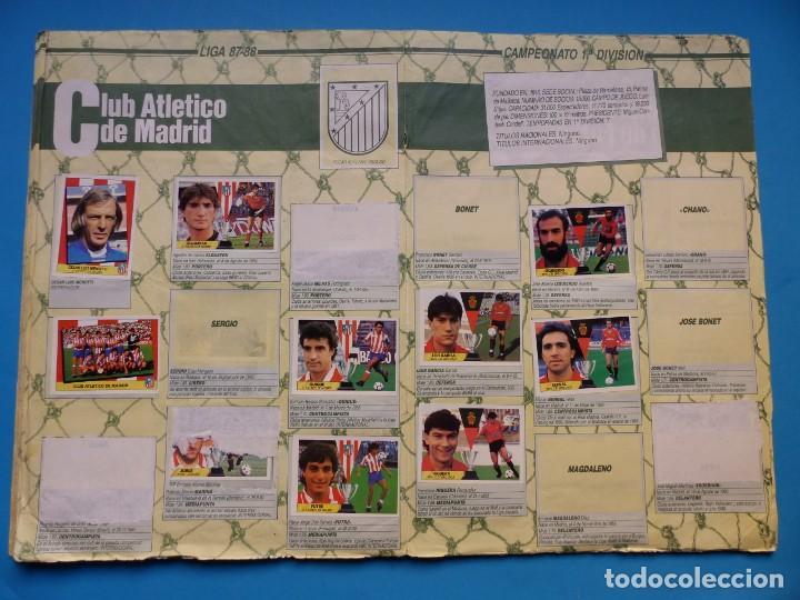 Coleccionismo deportivo: ALBUM CROMOS - LIGA 1987-1988 87-88 - ED. ESTE - TIENE 242 CROMOS - VER DESCRIPCION Y FOTOS - Foto 13 - 150978674