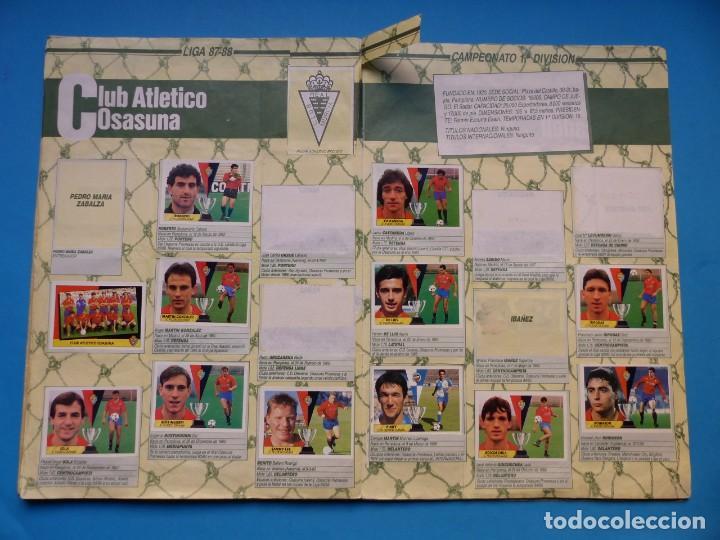 Coleccionismo deportivo: ALBUM CROMOS - LIGA 1987-1988 87-88 - ED. ESTE - TIENE 242 CROMOS - VER DESCRIPCION Y FOTOS - Foto 16 - 150978674