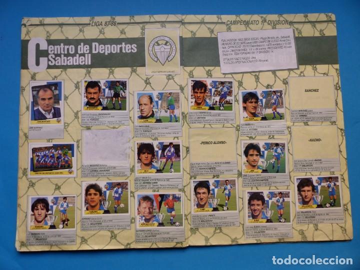Coleccionismo deportivo: ALBUM CROMOS - LIGA 1987-1988 87-88 - ED. ESTE - TIENE 242 CROMOS - VER DESCRIPCION Y FOTOS - Foto 18 - 150978674