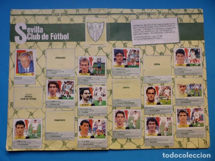 Coleccionismo deportivo: ALBUM CROMOS - LIGA 1987-1988 87-88 - ED. ESTE - TIENE 242 CROMOS - VER DESCRIPCION Y FOTOS - Foto 20 - 150978674