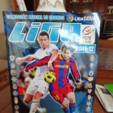 Coleccionismo deportivo: ALBUM 2011 2012. CROMOS PEGADOS. INCOMPLETO.. Lote 151173121