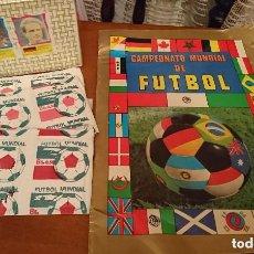 Coleccionismo deportivo: JOYA UNICA COLECCIONISTAS ALBUM VACIO + CAJA 200 SOBRES CROMOS CAMPEONATO MUNDIAL FUTBOL MEXICO 1986. Lote 151578118