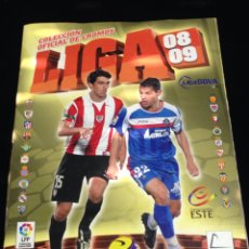Coleccionismo deportivo: ALBUM DE CROMOS DE FUTBOL,LIGA 2008/2009,AL 60%.. Lote 152247264