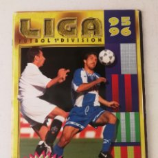 Coleccionismo deportivo: ALBUM FÚTBOL LIGA ESTE 95 96 INCOMPLETO . Lote 152300414