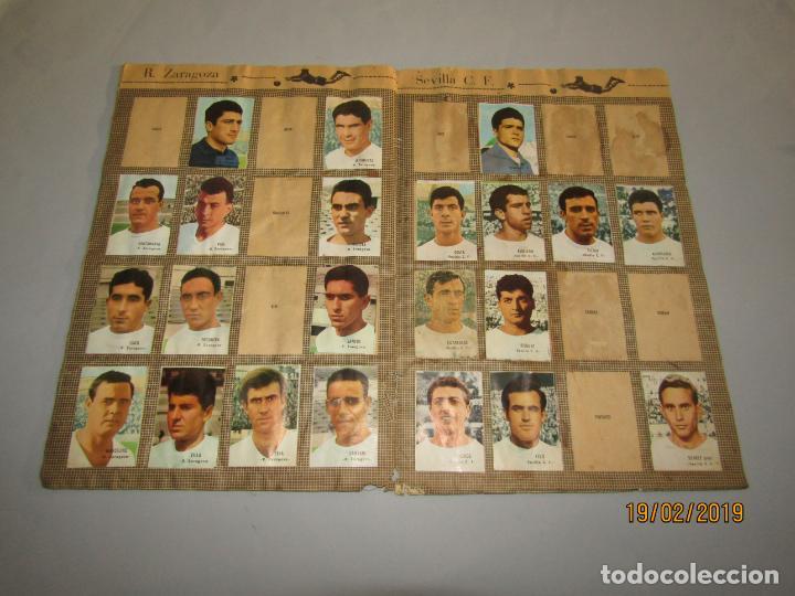 ANTIGUO ÁLBUM CAMPEONATO DE LIGA 1966 1967 , FHER DISGRA (Coleccionismo Deportivo - Álbumes y Cromos de Deportes - Álbumes de Fútbol Incompletos)