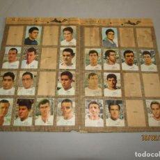 Coleccionismo deportivo: ANTIGUO ÁLBUM CAMPEONATO DE LIGA 1966 1967 , FHER DISGRA. Lote 152364354